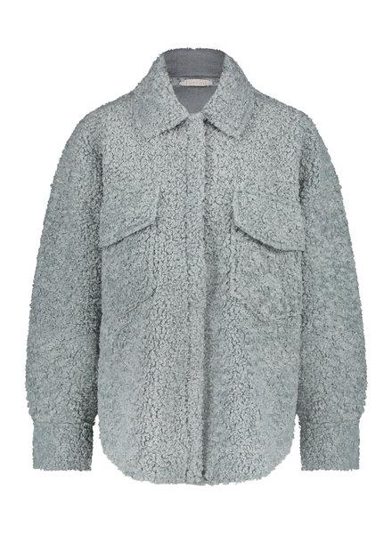 FREEBIRD Reese light green jacket pl-faux-21-3