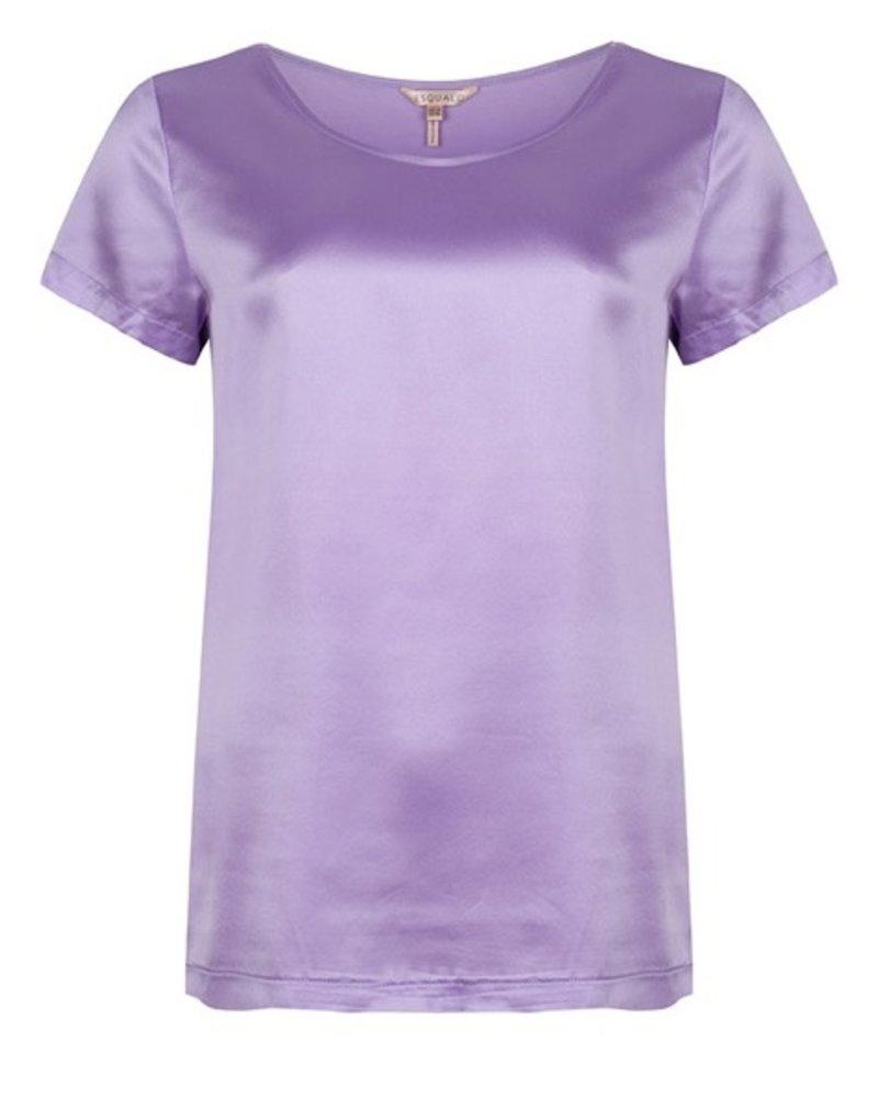 ESQUALO F21.33500 T-shirt silk lilac