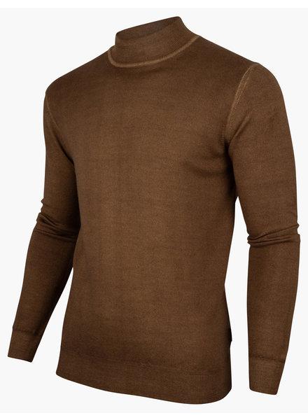 CAVALLARO 118215018 Turtulo pullover dark taupe