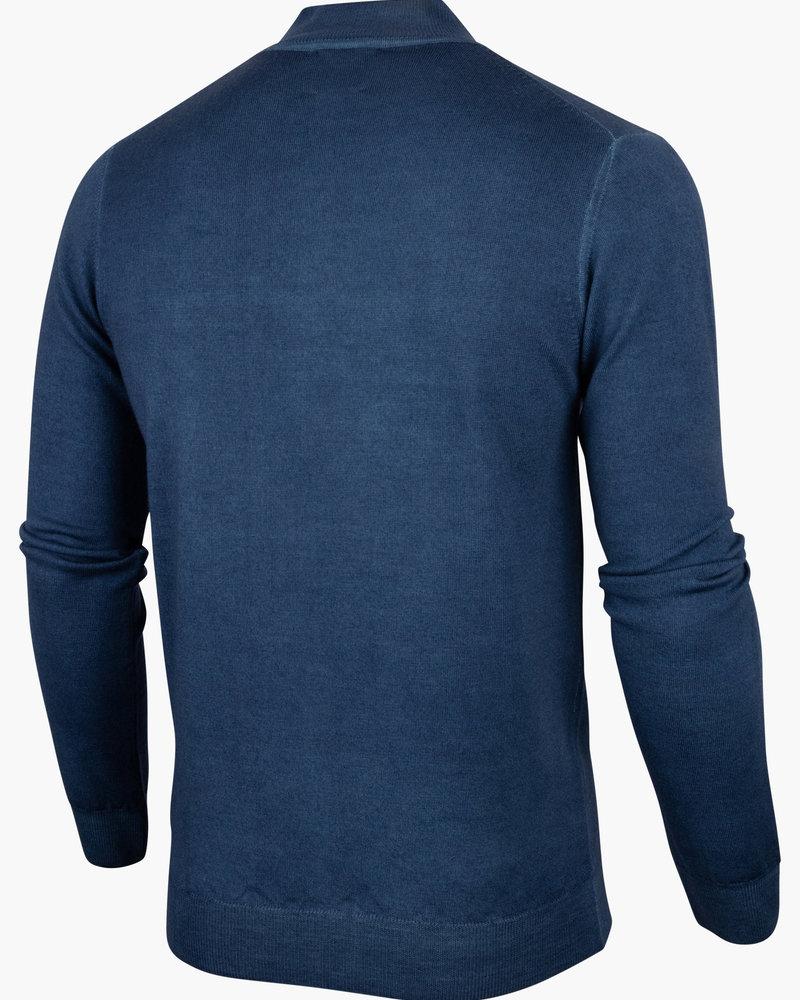 CAVALLARO 118215018 Turtulo pullover indigo blue