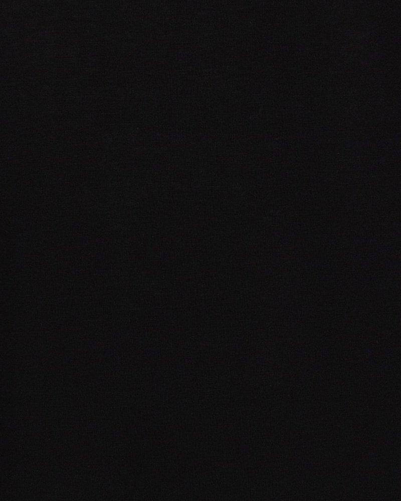 ESQUALO F21.30518 T-shirt turn up sleeve black