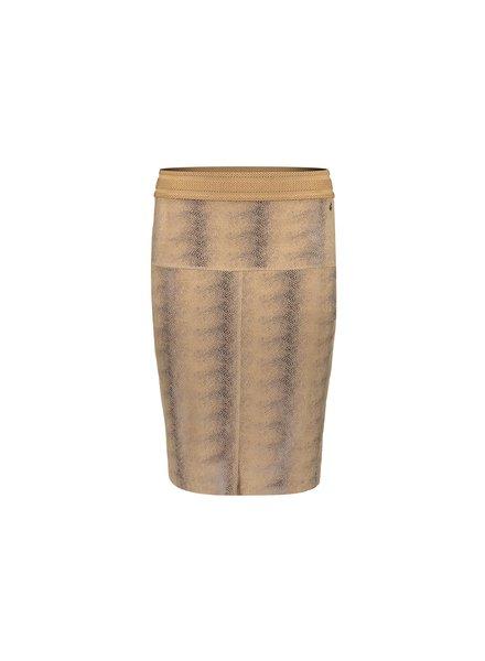 GEISHA 16509-10 Skirt suedine camel