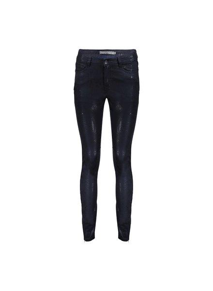 GEISHA 11526-10 Jeans 7/8 + zip navy