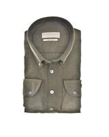 JOHN MILLER 5139511-580  Slim Fit Casual polo shirt lange mouw button down tricot