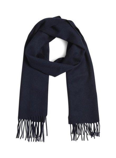 MATINIQUE 30204996 Mawolan  wool scarf dark navy