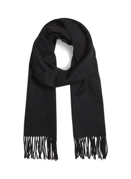 MATINIQUE 30204996 Mawolan  wool scarf black