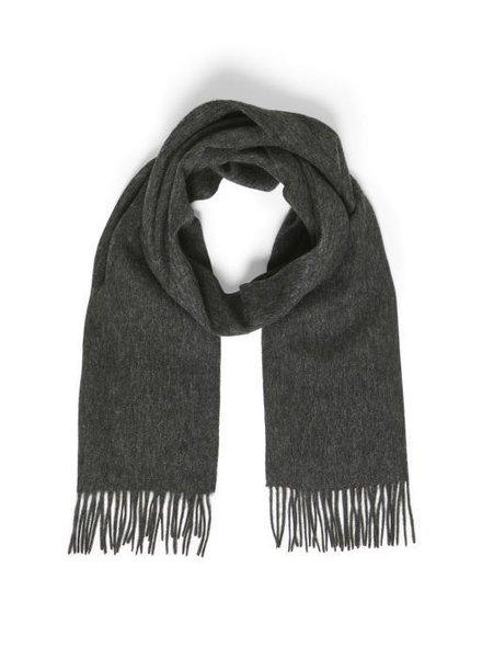 MATINIQUE 30204996 Mawolan wool scarf dark grey melang