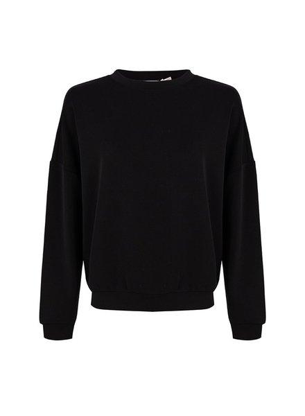 ESQUALO F21.05527 Sweater oversized modal black