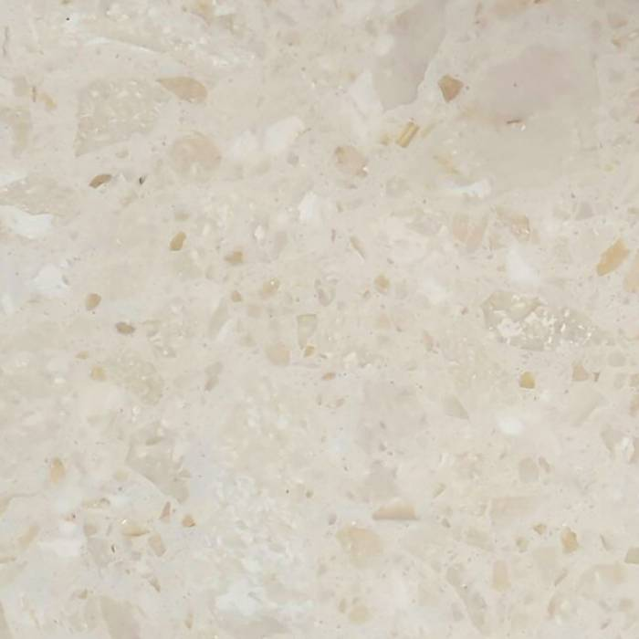Sample Perlato 10x10x2 cm - materiaal proefstuk - monster Marmer composiet