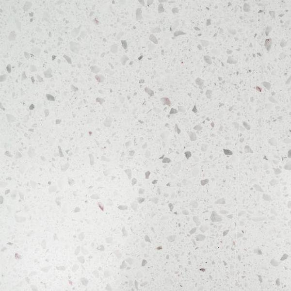 Sample Bianco L 10x10x2 cm - materiaal proefstuk - monster Marmer composiet