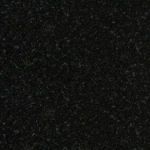 Sample Nero Assoluto Graniet gepolijst 10x10x2 cm - materiaal proefstuk - monster gepolijst Absolute Black graniet
