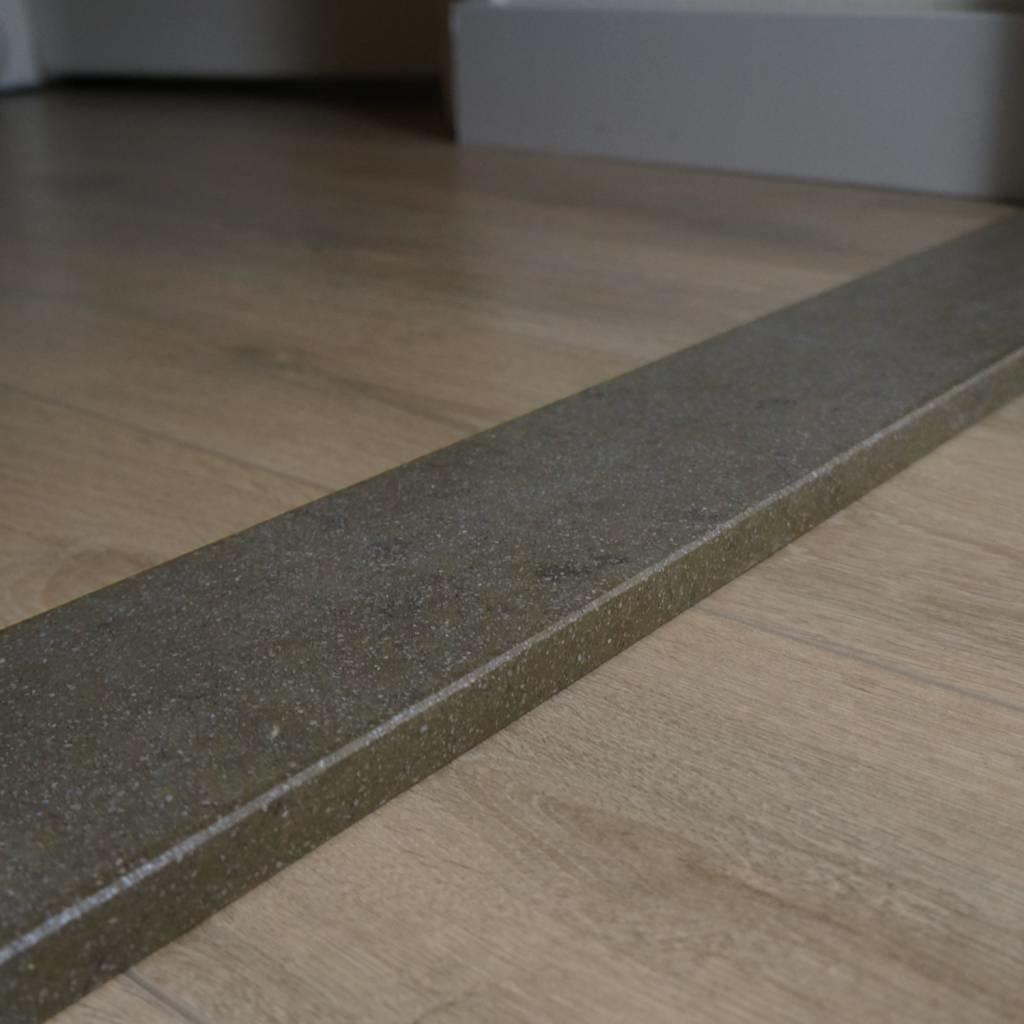 Dorpel composiet Marrone - OP MAAT - 2 cm dik - 2-25 cm breed - 10-230 cm lang -  Binnen(deur)dorpel gepolijst marmer composiet bruin
