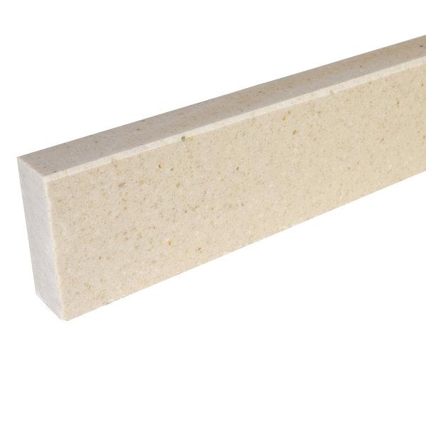Plint composiet Beige 2 cm dik - OP MAAT