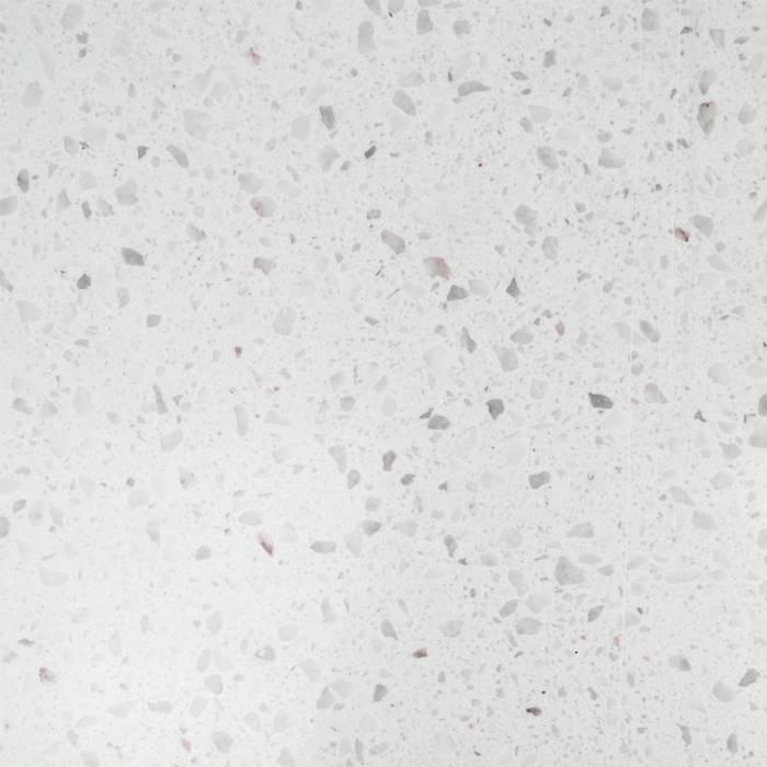 Plint composiet Bianco L 2 cm dik - OP MAAT-  5-25 cm breed - 50-120 cm lang - Muurplint gepolijst marmer composiet