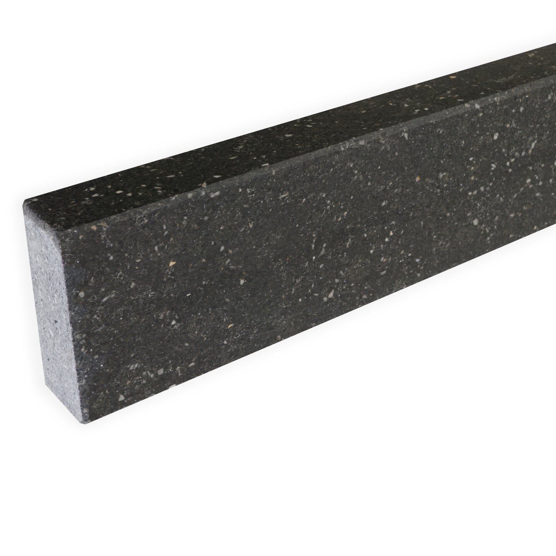 Plint composiet Hardsteen look 2 cm dik - OP MAAT-  5-25 cm breed - 50-120 cm lang - Muurplint gepolijst marmer composiet