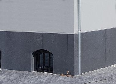 Belgisch hardsteen gevelplint