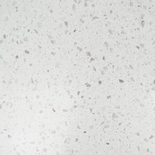 Plint composiet Bianco L 1 cm dik - OP MAAT