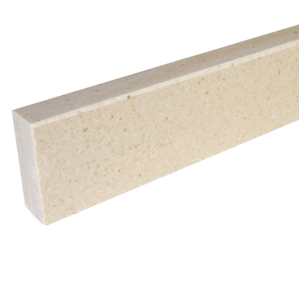 Plint composiet Beige 1 cm dik - OP MAAT