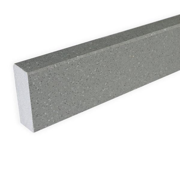 Plint composiet Grigio 1 cm dik - OP MAAT