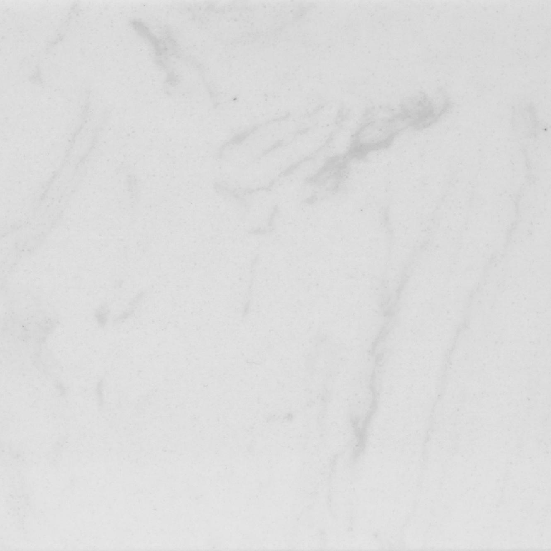 Plint composiet Carrara wit 1 cm dik - OP MAAT-  5-25 cm breed - 50-120 cm lang - Muurplint gepolijst marmer composiet witte marmerlook
