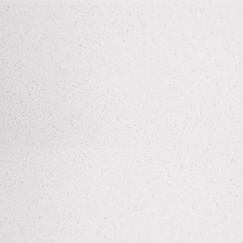 Sample White 10x10x2 cm - materiaal proefstuk - monster Marmer composiet - wit