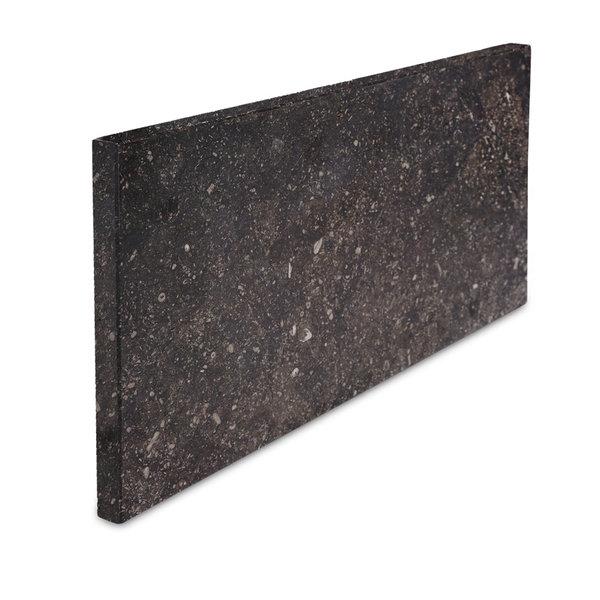 Gevelplint Belgisch hardsteen donker gezoet 2 cm dik - OP MAAT