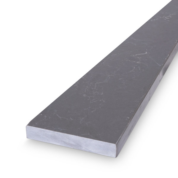 Dorpel kwartscomposiet graphite marmer look - OP MAAT