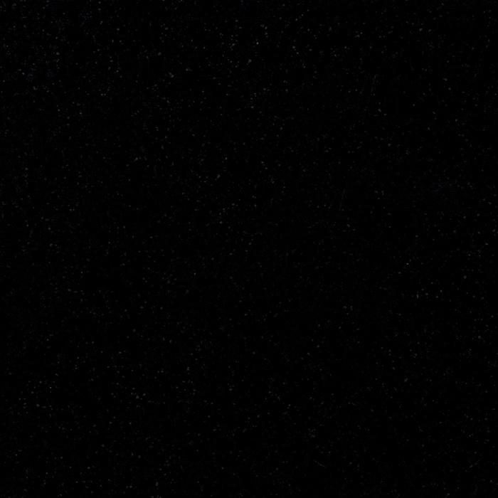 Wastafelblad kwartscomposiet - incl. gaten - nero - OP MAAT - 2 cm dik - 10-70 cm breed - 10-230 cm lang -  Gepolijst quartz composiet zwart