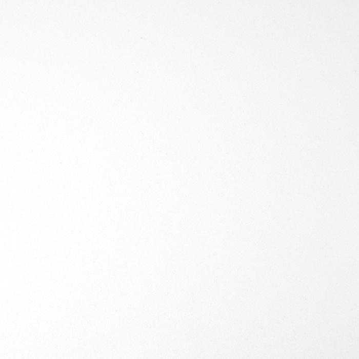 Wastafelblad kwartscomposiet - incl. gaten - wit - OP MAAT - 2 cm dik - 10-70 cm breed - 10-230 cm lang -  Gepolijst quartz composiet wit