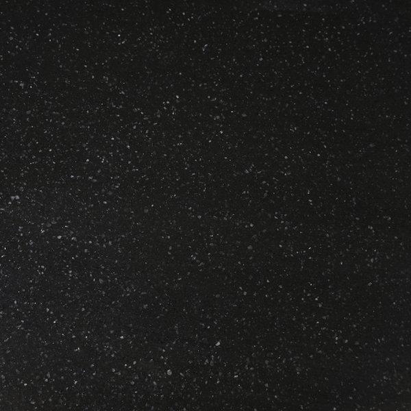 Sample Kwartscomposiet (quartz) Zwart Spikkel 10x10x2 cm