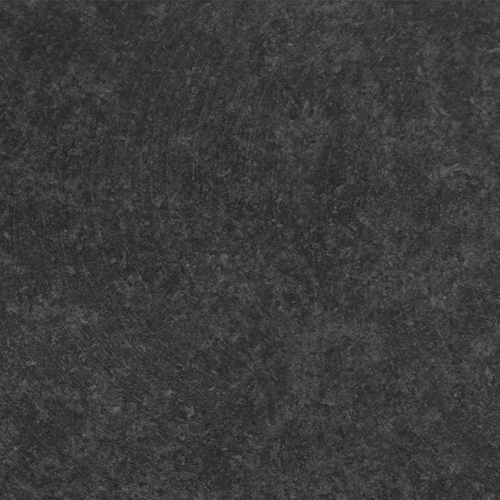 Sample Nero Assoluto Graniet gezoet 10x10x2 cm - materiaal proefstuk - monster gezoet Absolute Black graniet