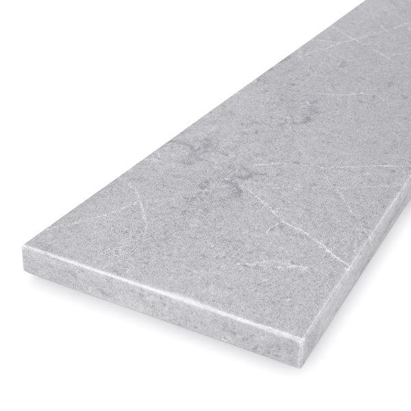 Vensterbank kwartscomposiet grijs natuursteen look - OP MAAT