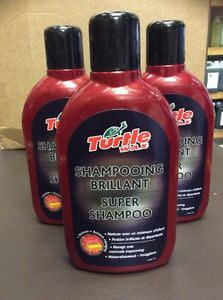 turtle wax super shampoo