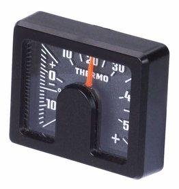HR HR Binnenthermometer carbonlook