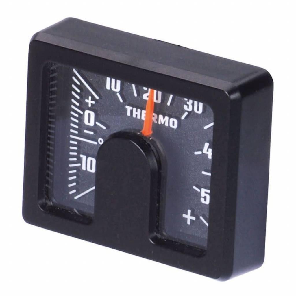 HR Binnenthermometer carbonlook