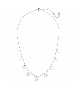 Silver Circle Of Trust Necklace