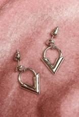 Silver Love & Light Earrings