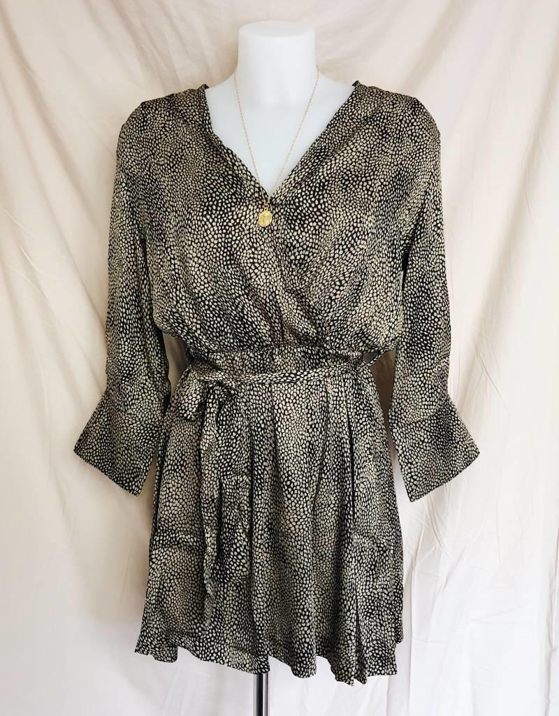 Gold Isabella Silky Dress