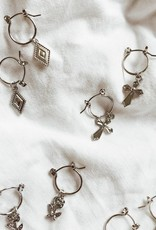 Silver Young Love Earrings