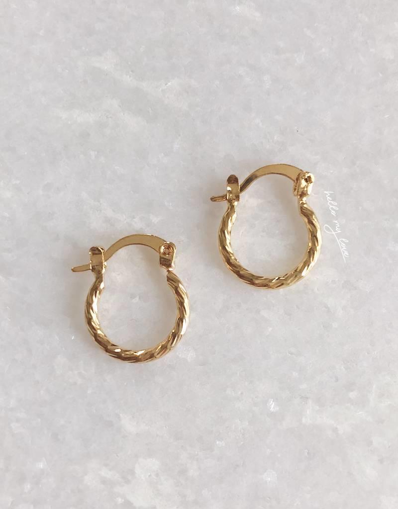 Rory Mini Hoop Earrings