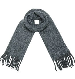 Nela Knitted Scarf / Grey