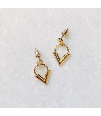 Gold Love & Light Earrings