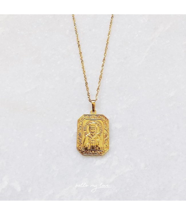 Gold City of Angels Necklace