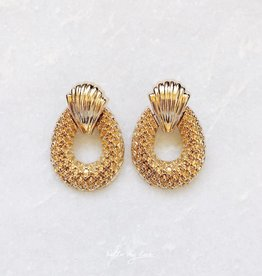 Crescent Shell Earrings