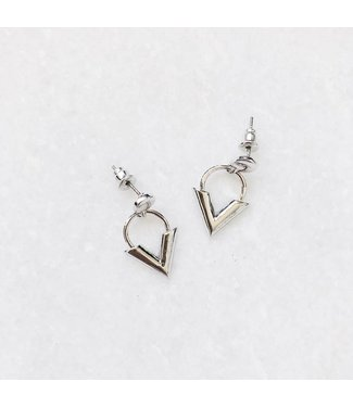 Silver Love & Light Earrings