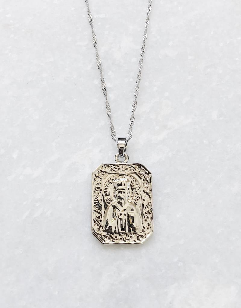 Silver City of Angels Necklace