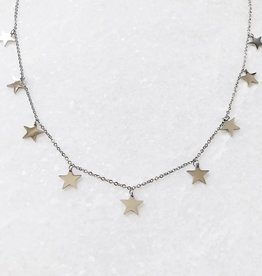 Silver Sky Full Of Stars Necklace