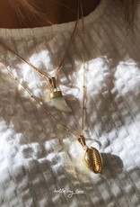 Gold Amara Tooth Necklace