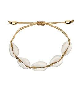 White Renae Shell Bracelet