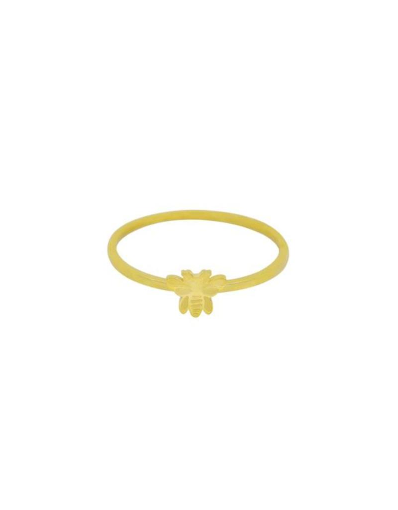 Gold Honey Bee Ring